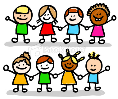 istockphoto_9778993-happy-children-friends-girls-boys-group-holding-hands-cartoon-illustration